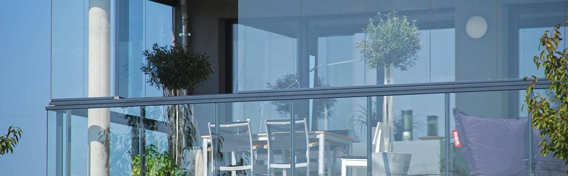 Безрамные балконы